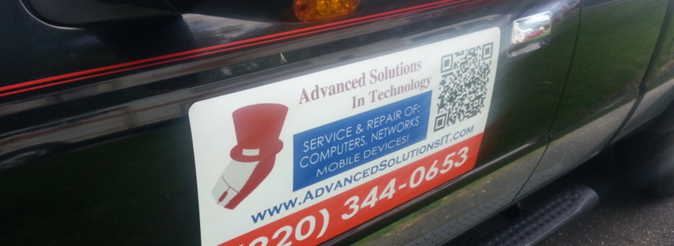 Advanced Solutions In Technology Truck